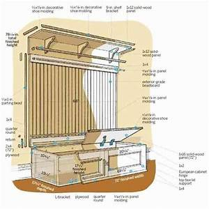 Mudroom Storage Bench Plans - Decor IdeasDecor Ideas