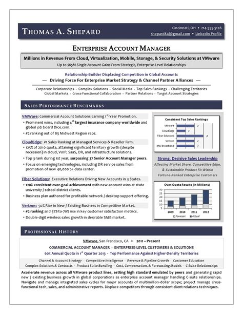 sales executive sle resume executive sales resume by