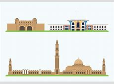 Oman Historic Showplace Download Free Vector Art, Stock