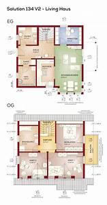 Haus Ohne Keller Erfahrungen : grundriss einfamilienhaus mit satteldach 5 zimmer 130 ~ Lizthompson.info Haus und Dekorationen