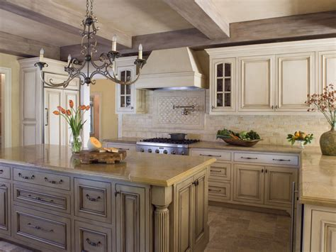 French Country Kitchen  Traditional  Kitchen San
