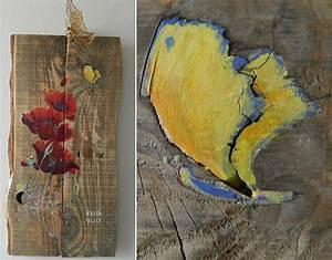 Peinture Effet Bois Flotté : les tableaux au fil de l 39 eau bois flott ~ Dailycaller-alerts.com Idées de Décoration