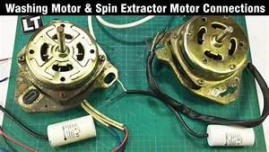 Washing Machine Motor 230v Wiring Connections