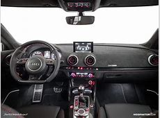 New Audi RS3 Gets Carbon Fiber and Alcantara Interior from