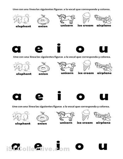 13 best images of vowel worksheet printable