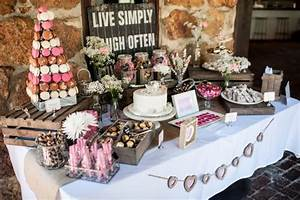 Another Pic Of Our Candy Buffet Rustic Romance Style