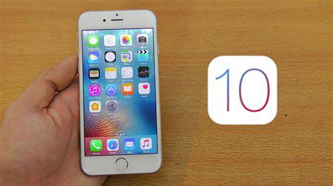 iphone 6 ios iphone 6 ios 10 review beta 1
