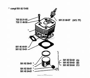 Husqvarna 133  1980 Cylinder