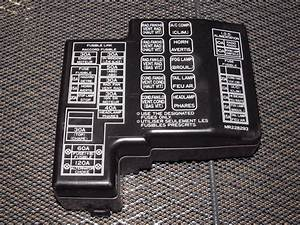 97 98 99 Mitsubishi Eclipse Oem Engine Fuse Box Cover