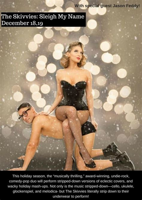 skivvies sleigh   theater review driftwood