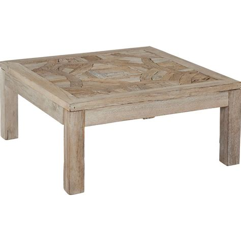 table basse en bois recycl 233 90x90xh 40cm birma hanjel trendy homes