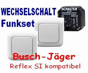 Lichtschalter Busch Jäger : funk wechselschaltung busch j ger reflex si alpinwei ebay ~ Frokenaadalensverden.com Haus und Dekorationen