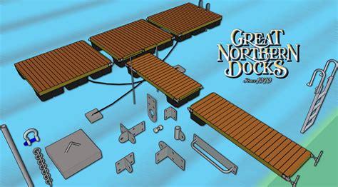 Floating Boat Dock Parts by Floating Dock Parts Boat Docks