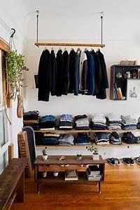 Solution Dressing Pas Cher : une penderie en hauteur dans ce dressing sur mesure pas cher ~ Premium-room.com Idées de Décoration