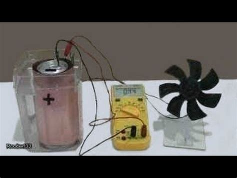 Create Your Electricity Making Homemade Battery Using