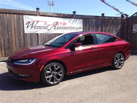 2015 chrysler 200 s all wheel drive red westend