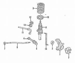 Ford Windstar Suspension Stabilizer Bar Bracket  Front