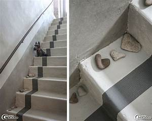 escalier peint 17 idees peinture escalier escalier With peindre du ciment exterieur