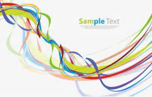 Line Colorful Vector Graphics