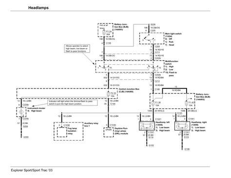 2003 ford explorer sport trac radio wiring diagram