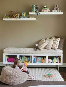 Banc Rangement Enfant : le banc de rangement un meuble fonctionnel qui ~ Teatrodelosmanantiales.com Idées de Décoration