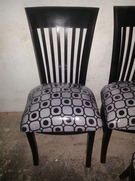 sillas modernas comedor tapizadas madera bs