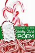 The Legend of Candy Cane Poem - Free Christmas Printable ...