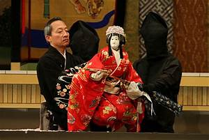 Japanese Culture - Entertainment - Bunraku