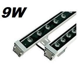 6pcs 9w led wall washer light wash rgb warm white red green blue yellow l85 265v in