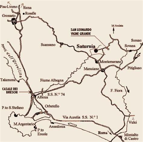 Thermen Italien Karte