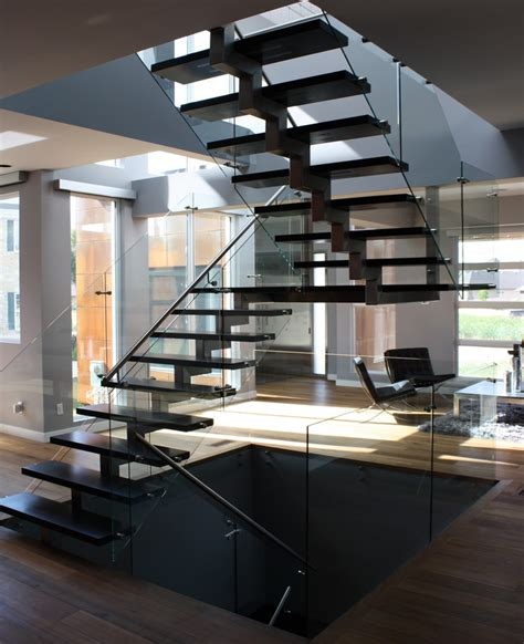 steel and wood staircase ssg notion mezzo