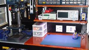 DIY electronics workbench