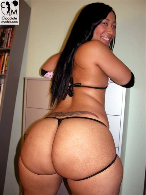 Black Asian Girl with a Big Booty