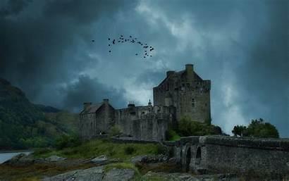 Castle Medieval Donan Eilean Wallpapers Storm Kingdom