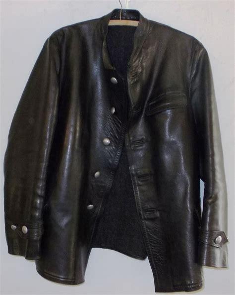 U Boat Jacket by Wwii U Boat Ss Panzer Leather Jacket