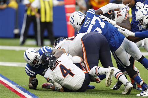 bears  scores   win  colts national
