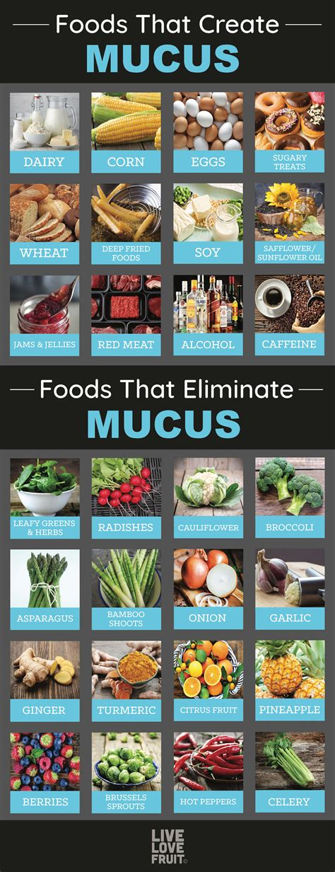 12 Foods That Cause Excessive Mucus In The Body (and 14