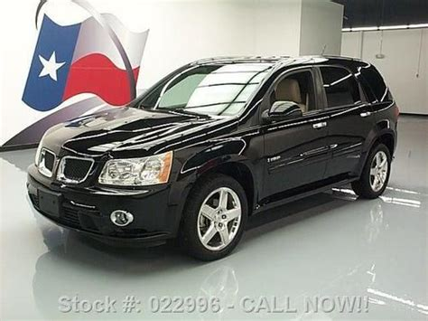 Sell Used 2008 Pontiac Torrent Gxp Awd Htd Leather Sunroof
