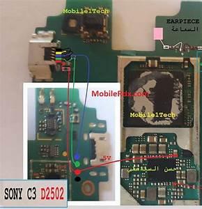 Sony Xperia C3 D2502 Charging Ways Solution Usb Jumper