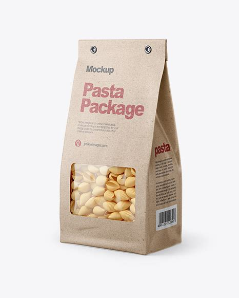 Contains special layers and smart objects for your work. Kraft Snack Bag Mockup - Kraft Paper Bag Mockup - Half ...