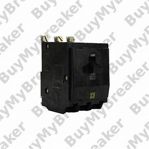 Square D Qob315hid 3 Pole 15 Amp 240v Circuit Breaker