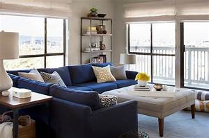 blue sectional sofa brilliant navy blue sectional sofa With contemporary navy blue sectional sofa