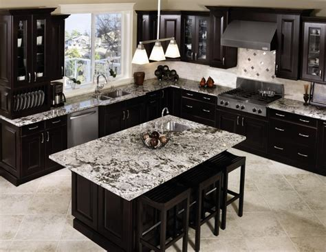 White Kitchens With Granite Countertops by Gorgeous Inspiring Images Of Granite Countertops Homesfeed