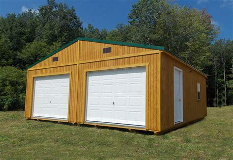 Garage Buildings by Prefabricated Garage Garage Buildings For 2 Cars Or A Shop