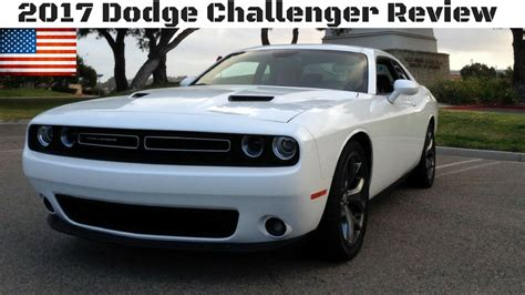 2017 Challenger Review by 2017 Dodge Challenger Sxt V6 Review