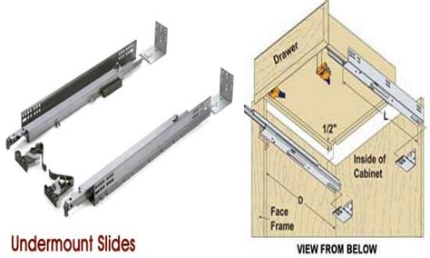 Undermount Drawer Slides Home Depot by Tips How To Install Dazzling Undermount Drawer Slides