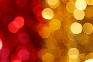 Red And Yellow Blurred Lights Free Stock Photo - Public ...