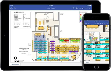 different floor plans microsoft visio viewer for ios
