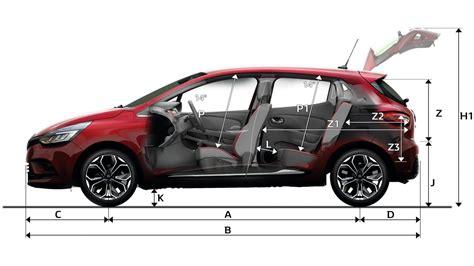 dimensions new clio cars renault uk