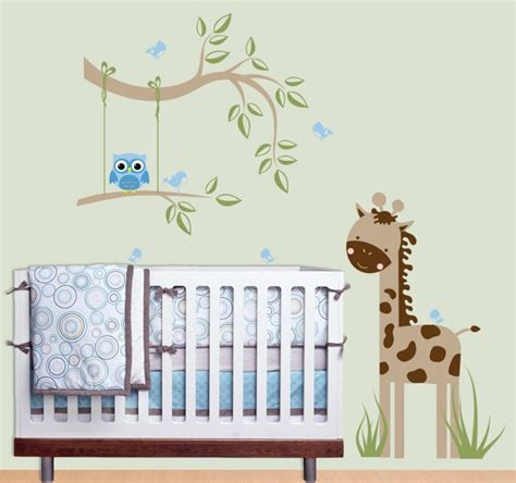 sticker chambre bebe déco mur chambre bébé 50 idées charmantes